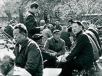 Im Park in Peking, China 1989