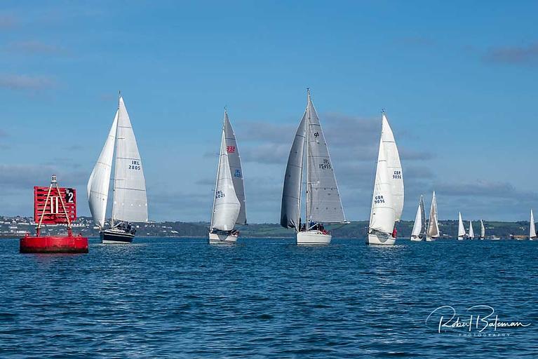 The RCYC Autumn League White Sails division
