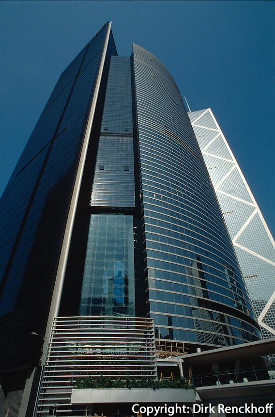 China, Hongkong-Central, Citibank, Bank of China