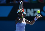 Sloane Stephens (USA) loses in semifinal at Australian Open in Melbourne on January 23, 2013
