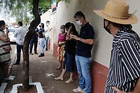 Serrana (SP), 17/02/2021 - Projeto S-SP - O Governador João Doria acompanha nesta quarta-feira (17), o início do Projeto S, com a abertura da Campanha de Imunização contra Covid-19 na Escola Municipal Professora Maria Celina Walter de Assis no município de Serrana, na região de Ribeirão Preto. A iniciativa é conduzida pelo Instituto Butantan e pretende vacinar cerca de 30 mil moradores acima de 18 anos do município de Serrana contra o novo coronavírus, em caráter de estudo clínico.