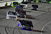 NASCAR Camping World Truck Series<br /> TheHouse.com 225<br /> Chicagoland Speedway, Joliet, IL USA<br /> Friday 15 September 2017<br /> Ryan Truex, ADVICS / AISIN Toyota Tundra, Johnny Sauter, ISMConnect Chevrolet Silverado<br /> World Copyright: Logan Whitton<br /> LAT Images