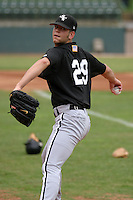August 23, 2005:  Pitcher Frank Viola III of the Bristol White Sox during a game at Devault Memorial Stadium in Bristol, VA.  Bristol is the Appalachian League Rookie affiliate of the Chicago White Sox.  Photo by:  Mike Janes/Four Seam Images