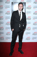 """HOLLYWOOD, CA - NOVEMBER 12: Sterling Jones at the AFI FEST 2013 - """"Lone Survivor"""" Premiere held at TCL Chinese Theatre on November 12, 2013 in Hollywood, California. (Photo by David Acosta/Celebrity Monitor)"""