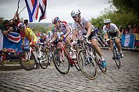 John Degenkolb (DEU/Giant-Shimano) up Libby Hill<br /> <br /> Elite Men Road Race<br /> UCI Road World Championships Richmond 2015 / USA
