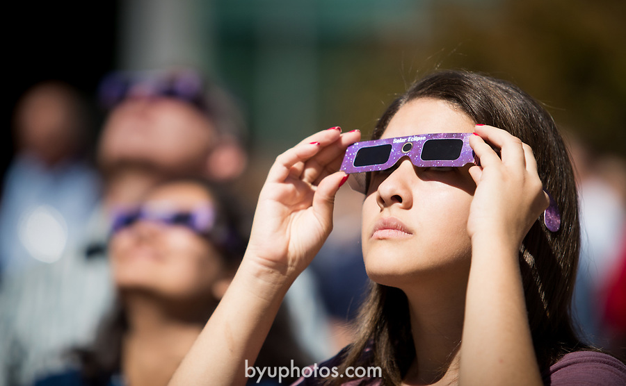 Eclipse_8<br /> <br /> Solar Eclipse on BYU Campus<br /> <br /> August 21, 2017<br /> <br /> Photography by Savanna Richardson/BYU<br /> <br /> © BYU PHOTO 2017<br /> All Rights Reserved<br /> photo@byu.edu  (801)422-7322
