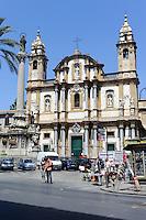 Chiesa di San Domenico in Palermo, Sizilien, Italien