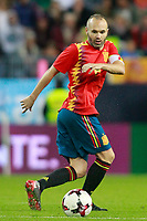 Spain's Andres Iniesta during international friendly match. November 11,2017.(ALTERPHOTOS/Acero) /NortePhoto.com
