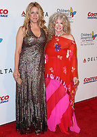 LOS ANGELES, CA, USA - OCTOBER 11: Joely Fisher, Connie Stevens arrives at the Children's Hospital Los Angeles' Gala Noche De Ninos 2014 held at the L.A. Live Event Deck on October 11, 2014 in Los Angeles, California, United States. (Photo by Xavier Collin/Celebrity Monitor)