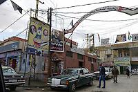 LEBANON Baalbek in Beqaa valley, palestinesian refugee camp  / LIBANON Baalbek in der Bekaa Ebene, palaestinensisches Fluechtlingslager