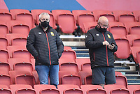 23rd April 2021; Ashton Gate Stadium, Bristol, England; Premiership Rugby Union, Bristol Bears versus Exeter Chiefs; Warren Gatland, head coach for the British and Irish Lions considers his Lions options from both teams