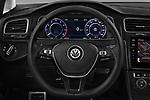 Car pictures of steering wheel view of a 2017 Volkswagen Golf Alltrack Base 5 Door Wagon