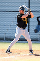 March 15, 2010:  Third Baseman Brian Klukowicz of UMBC vs. Long Island University at Lake Myrtle Park in Auburndale, FL.  Photo By Mike Janes/Four Seam Images