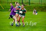 Fiona McSweeney  Kilcummin and Katie O'Shea Inbhear Sceine Gaels in action during their Intermediate clash in Kilcummin on Sunday