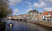 Nederland  Haarlem 2020.   De Nieuwe Gracht.    Foto : ANP/ HH / Berlinda van Dam