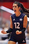 Tatiana Rizzo (ARG), AUGUST 27, 2015 - Volleyball : FIVB Women's World Cup 2015 1st Round between Argentina 3-0 Kenya  in Tokyo, Japan. (Photo by Sho Tamura/AFLO SPORT)