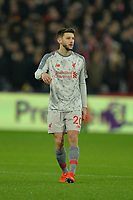 Adam Lallana of Liverpool during West Ham United vs Liverpool, Premier League Football at The London Stadium on 4th February 2019