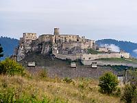 Zipser Burg-Spissky Hrad, Presovsky kraj, Slowakei, Europa, UNESCO-Weltkulturerbe<br /> Castle-Spissky Hrad, Presovsky kraj, Slovakia, Europe, UNESCO-World Heritage