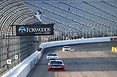 #20: Christopher Bell, Joe Gibbs Racing, Toyota Supra Rheem-Watts drives under the checkered flag to win