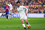 Real Madrid's Isco Alarcon during spanish La Liga match between Futbol Club Barcelona and Real Madrid  at Camp Nou Stadium in Barcelona , Spain. Decembe r03, 2016. (ALTERPHOTOS/Rodrigo Jimenez)