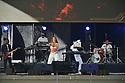 MIRAMAR, FLORIDA - JULY 18: Colombian rapper Farina performs onstage during the Gran Festival Independencia de Colombia festival day2 at Miramar Regional Park Ampitheatre on July 18, 2021 in Miramar, Florida.  ( Photo by Johnny Louis / jlnphotography.com )