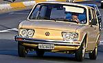 Automóvel Brasília. SP. Foto de Juca Martins.