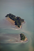 aerial photograph, Marin Islands, Marin County, California