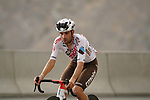 Andrea Vendrame (Ita) AG2R Citroën Team climbs the final 4km of Jais Mountain during Stage 5 of the 2021 UAE Tour running 170km from Fujairah to Jebel Jais, Ras Al Khaimah, UAE. 25th February 2021.  <br /> Picture: Eoin Clarke   Cyclefile<br /> <br /> All photos usage must carry mandatory copyright credit (© Cyclefile   Eoin Clarke)