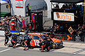 NASCAR XFINITY Series<br /> Pocono Green 250<br /> Pocono Raceway, Long Pond, PA USA<br /> Saturday 10 June 2017<br /> Matt Tifft, Tunity Toyota Camry pit stop<br /> World Copyright: Russell LaBounty<br /> LAT Images<br /> ref: Digital Image 17POC1rl_03194