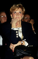 Andree Simard la conjointe du Premier ministre Robert Bourassa<br /> ,vers 1991<br /> <br /> <br /> <br /> PHOTO : © Agence Quebec Presse