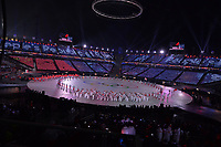 OLYMPIC GAMES: PYEONGCHANG: 09-02-2018, PyeongChang Olympic Stadium, Olympic Games, Opening Ceremony, Team China, ©photo Martin de Jong