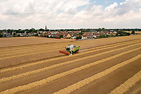20-7-2021 Harvesting Winter barley in Lincolnshire <br /> ©Tim Scrivener Photographer 07850 303986<br />      ....Covering Agriculture In The UK....