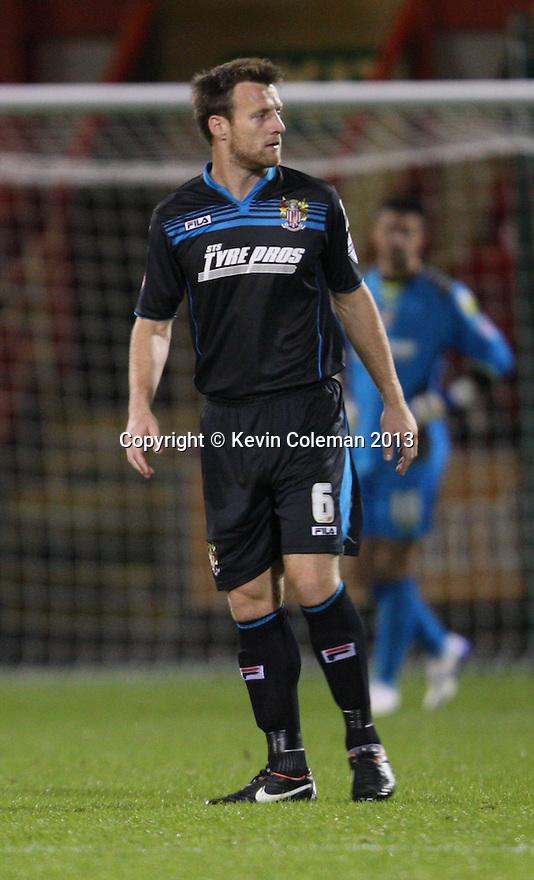 Luke Jones of Stevenage<br />  - Crewe Alexandra v Stevenage - Sky Bet League One - Alexandra Stadium, Gresty Road, Crewe - 22nd October 2013. <br /> © Kevin Coleman 2013<br />  <br />  <br />  <br />  <br />  <br />  <br />  <br />  <br />  <br />  <br />  <br />  <br />  <br />  <br />  <br />  <br />  <br />  <br />  <br />  <br />  <br />  <br />  <br />  <br />  <br />  <br />  <br />  <br />  <br />  <br />  <br />  <br />  <br />  <br />  <br />  - Crewe Alexandra v Stevenage - Sky Bet League One - Alexandra Stadium, Gresty Road, Crewe - 22nd October 2013. <br /> © Kevin Coleman 2013