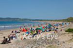 Large crowds on Banna Beach on Saturday