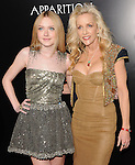 Cherie Currie & Dakota Fanning  at APPARITION'S L.A. Premiere of The Runaways held at The Arclight Cinerama Dome in Hollywood, California on March 11,2010                                                                   Copyright 2010 DVS / RockinExposures..