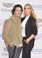 BRENTWOOD, CA - JUNE 11: Actor/painter Greg Lauren and wife/actress Elizabeth Berkley arrive at the 15th Annual Chrysalis Butterfly Ball at a private residence on June 11, 2016 in Brentwood, California.