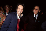 ROBERTO BENIGNI CON ALBERTO SORDI<br /> TEATRO DELL'OPERA ROMA 1993