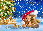 Marek, CHRISTMAS ANIMALS, WEIHNACHTEN TIERE, NAVIDAD ANIMALES, teddies, photos+++++,PLMP3461,#Xa# in snow,outsite,