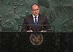 72 General Debate – 20 September <br /> <br /> <br /> by His Excellency Rumen Radev, President of the Republic of Bulgaria