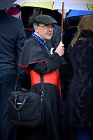 Cardinal Philippe Barbarin.Pope Francis during of a weekly general audience at St Peter's square in Vatican, May 15, 2019