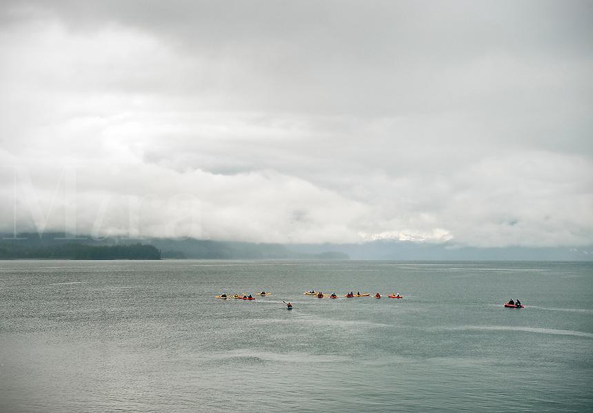 Kayaking excursion tour, Icy Straight Pont, Alaska