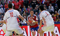 Momir Ilic during men`s EHF EURO 2012 championship semifinal handball game between Serbia and Croatia in Belgrade, Serbia, Friday, January 27, 2011.  (photo: Pedja Milosavljevic / thepedja@gmail.com / +381641260959)