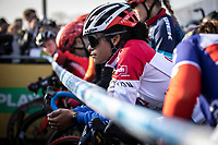 Ceylin Del Carmen Alverado (NED/Alpecin Fenix) pre race focus<br /> <br /> Elite Womens Race <br /> UCI Cyclocross Worldcup – Hoogerheide (Netherlands)<br /> ©kramon