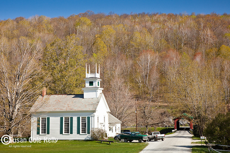 Community church in Arlington, VT, USA