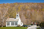 Community church in Arlington, VT, USA