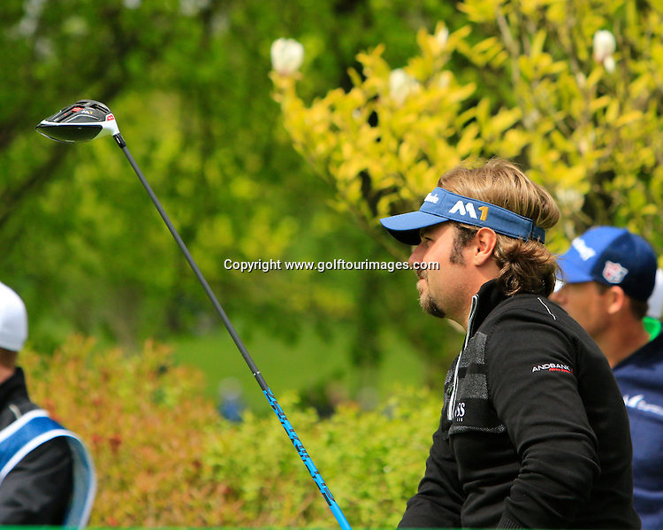 Victor DUBUISSON (FRA)  during round one of the 2016 Dubai Duty Free Irish Open hosted by The Rory Foundation and played at The K-Club, Straffan, Ireland. Picture Stuart Adams, www.golftourimages.com: 19/05/2016