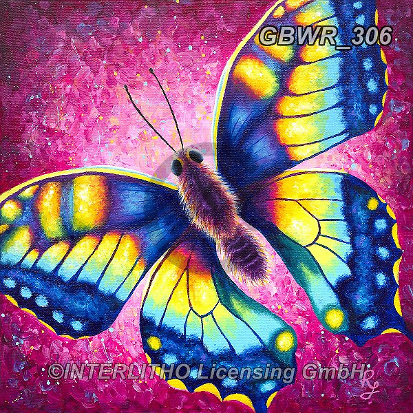 Simon, REALISTIC ANIMALS, REALISTISCHE TIERE, ANIMALES REALISTICOS, innovativ,butterfly,butterflies, paintings+++++RachelFroud_Butterfly,GBWR306,#a#, EVERYDAY