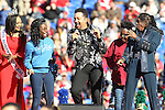 December 30, 2016: J.D. Nicholas and Walter Orange of The Commodores performing on stage at halftime of the AutoZone Liberty Bowl inside Liberty Bowl Memorial Stadium in Memphis, Tennessee. ©Justin Manning/Eclipse Sportswire/Cal Sport Media