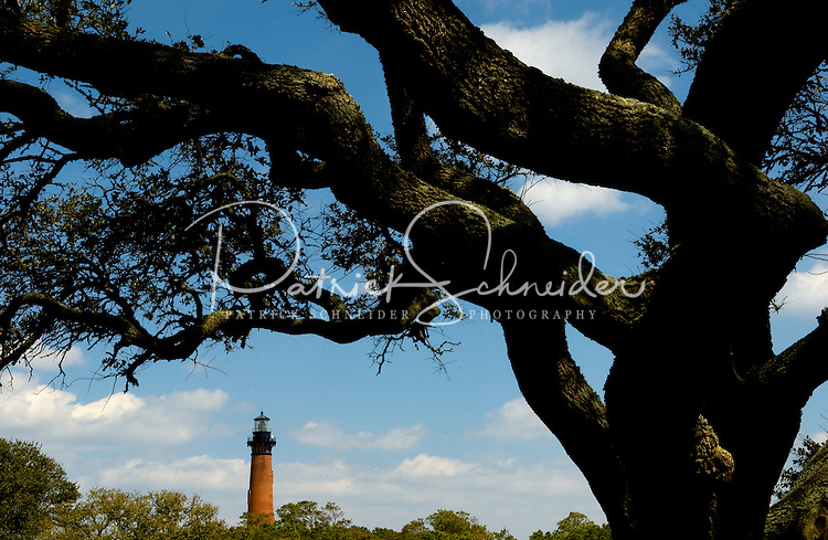 The Currituck Beach Lighthouse, in Corolla, NC, is one of the few lighthouses visitors can climb to the top. ..
