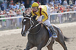 Rachael Alexandra and Calvin Borel winning The Mother Goose Stakes 6/27/09